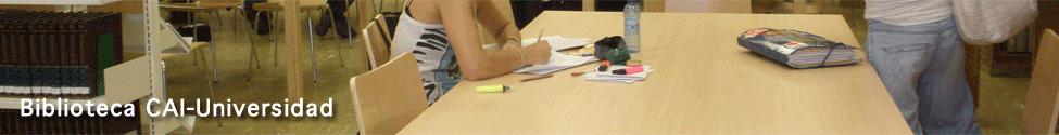 Biblioteca CAI-Universidad