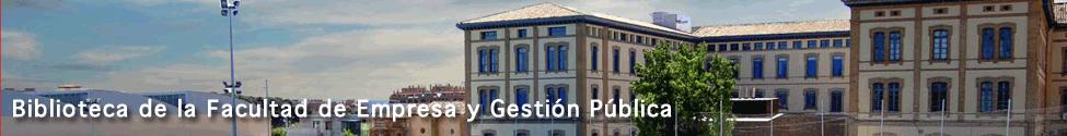 Biblioteca de la Facultad de Empresa y Gestión Pública