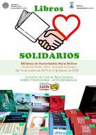 Campaña de Libros solidarios: Para el Fondo de becas escolares para el barrio Tomás Borge de León (Nicaragua), en la Biblioteca María Moliner.