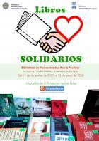 Campaña de Libros solidarios en la Biblioteca María Moliner