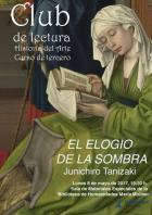 """Club de Lectura Historia del Arte. Curso de tercero. """"obra """"El elogio de la sombra"""" de Junichiro Tanizaki"""
