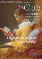 """Club de Lectura Historia del Arte. Curso de segundo. """"La joven de la perla"""" de Tracy Chevalier"""