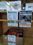 Campaña de recogida de alimentos para los refugiados de Grecia en la Biblioteca María Moliner