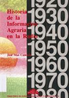 """""""Historia de la información agraria en la radio"""""""