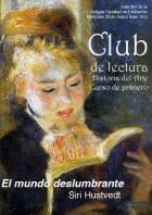 Club de lectura. Historia de Arte. Curso de primero
