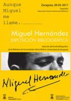 Exposición de obras de Miguel Hernández
