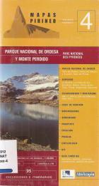 """""""Ordesa, Monte Perdido : Valles de Ordesa y Añisclo [Material cartográfico] E. 1:40.000"""""""