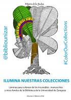 #ColorOurCollections – La Biblioteca de la Universidad de Zaragoza ofrece un tercer volumen de láminas para colorear