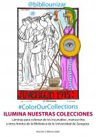 #ColorOurCollections 2020. Nuevo volumen de láminas para colorear de la BUZ.