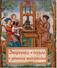 Eposicion Imprenta textos y géneros medievales