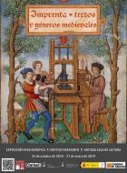 Imprenta, textos y géneros medievales. Exposición en la Biblioteca del Paraninfo