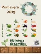 Cartel Biblioteca de Semillas campaña primavera-verano 2019