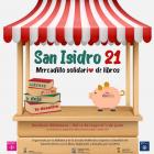 Mercadillo solidario de libros San Isidro 2021 en la Biblioteca de la Escuela Politécnica Superior