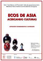 ECOS DE ASIA: ACERCANDO CULTURAS. Exposición en la Biblioteca María Moliner