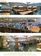 Remodelación de la Sala de Lectura de la Biblioteca de Veterinaria