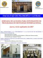 Jornada de Acogida para los Estudiantes de Programas de Movilidad Internacional (Erasmus)